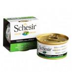 Schesir ТУНЕЦ С КУРИЦЕЙ (Tuna Chicken) влажный корм консервы для кошек, банка